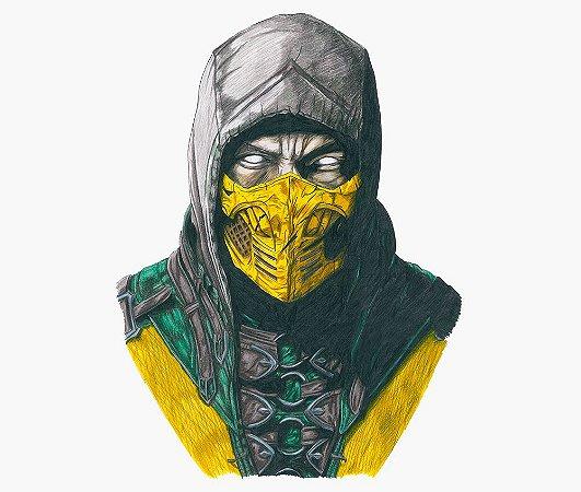 Enjoystick Mortal Kombat Scorpion Torso