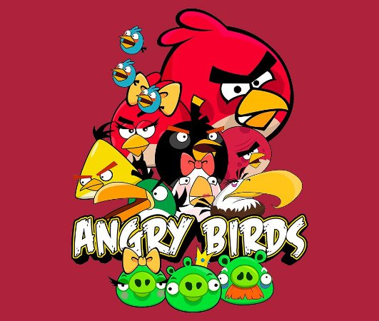 Enjoystick Angry Birds Composition