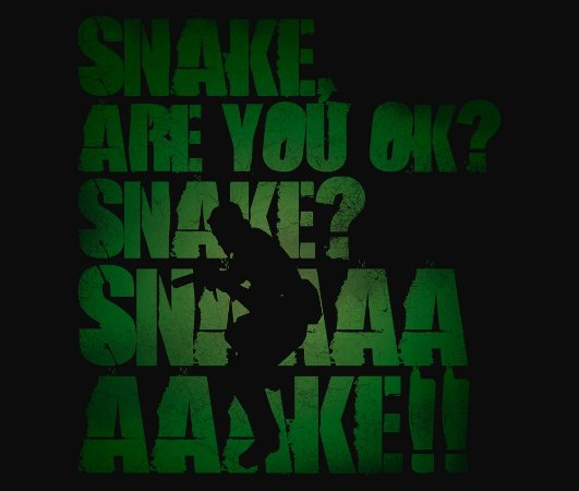 Enjoystick Metal Gear - Snake Are you ok? Snaaaaaaaaaaaake