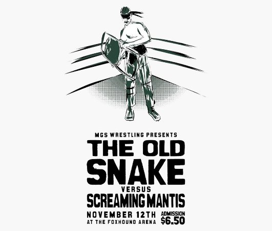 Enjoystick Old Snake VS Screaming Mantis