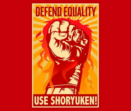 Enjoystick Defend Equality Use Shoryuken