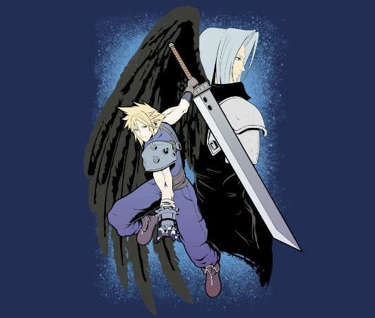 Enjoystick Final Fantasy VII - Cloud and Sephyroth