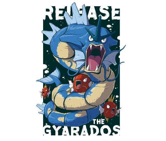 Enjoystick Pokemon Release the Gyarados