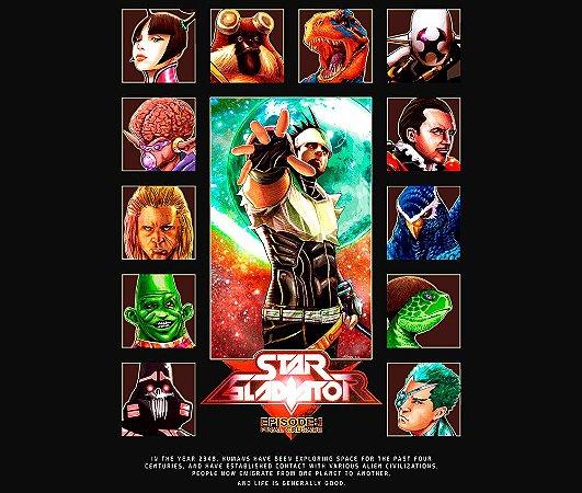 Enjoystick Star Gladiator - Plasma Sword - Characters