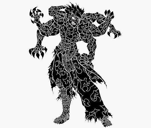 Enjoystick Asura's Wrath - Black and White