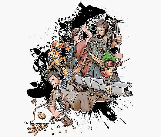 Enjoystick Naughty Dog Characters