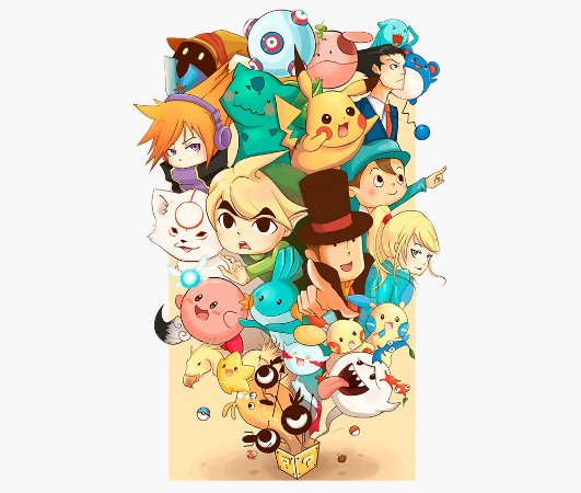 Enjoystick Nintendo Miscelania feat Heroes