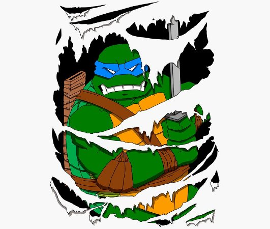 Enjoystick Ninja Turtles - Leonardo Rage
