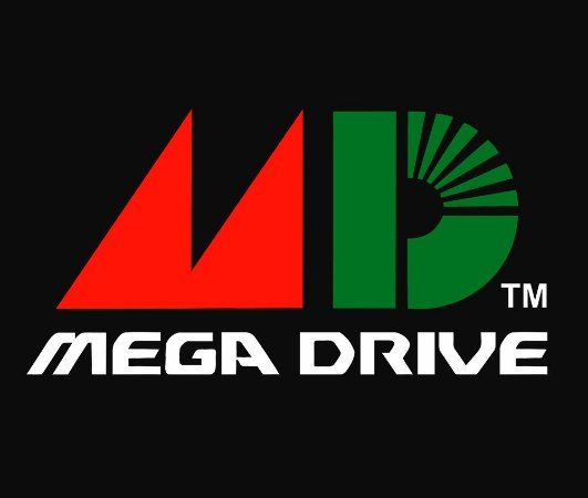 Enjoystick Mega Drive - Classic Logo