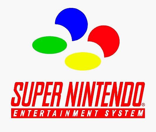 Enjoystick Super Nintendo Color Logo