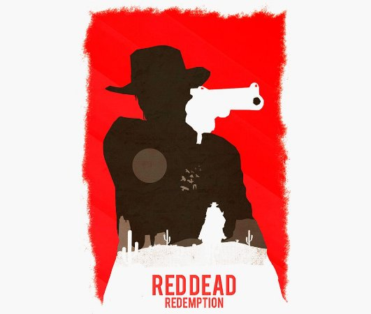 Enjoystick Red Dead Redemption - Red Composition
