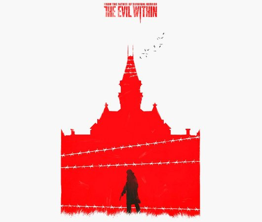 Enjoystick The Evil Within Red Composition
