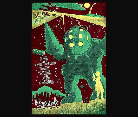 Enjoystick Bioshock Vertical Green Composition