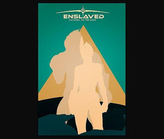 Enjoystick Enslaved Green Vertical Composition