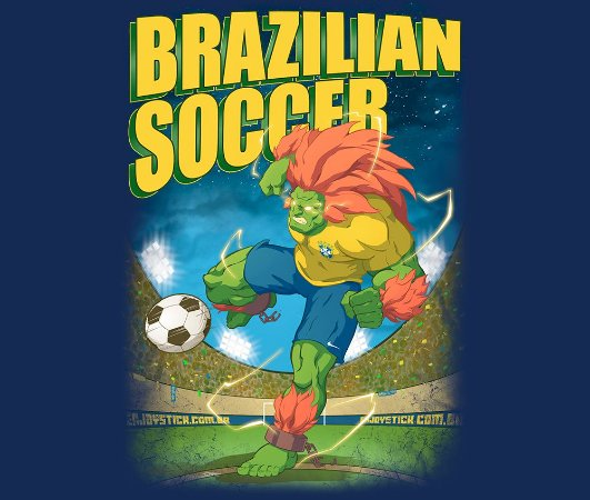 Enjoystick Blanka Soccer