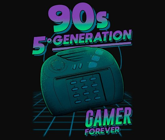 Enjoystick 90's 5º Geração - Atari Jaguar