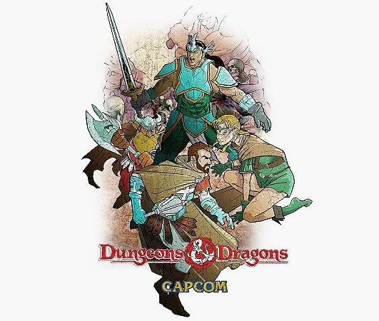 Enjoystick Dungeons and Dragons - Capcom
