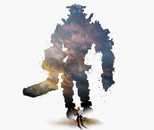 Enjoystick Shadow of Colossus - Sky Minimalist Composition