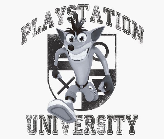 Enjoystick Playstation University Feat Crash - Black