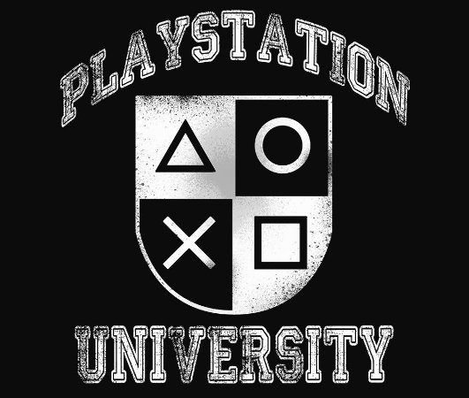 Enjoystick Playstation University - White