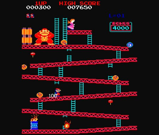 Enjoystick Donkey Kong Arcade Screen