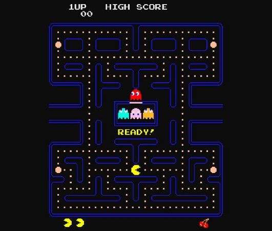 Enjoystick Pac Man Arcade Screen