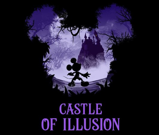 Enjoystick Mickey Castle of Illusion