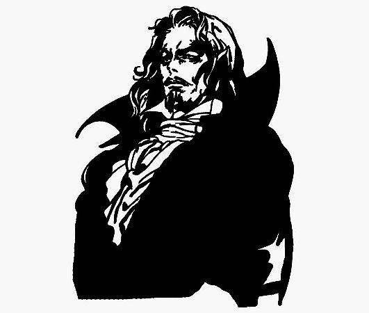Enjoystick Castlevania - Dracula Black & White