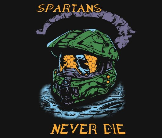 Enjoystick Halo - Master Chief Helmet - Spartans Never Die