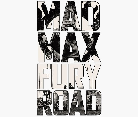 Enjoystick Mad Max - Black and White Lettering