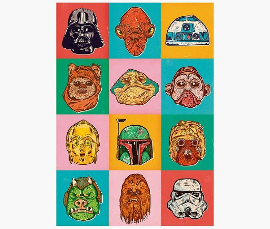 Enjoystick Star Wars Color Personas