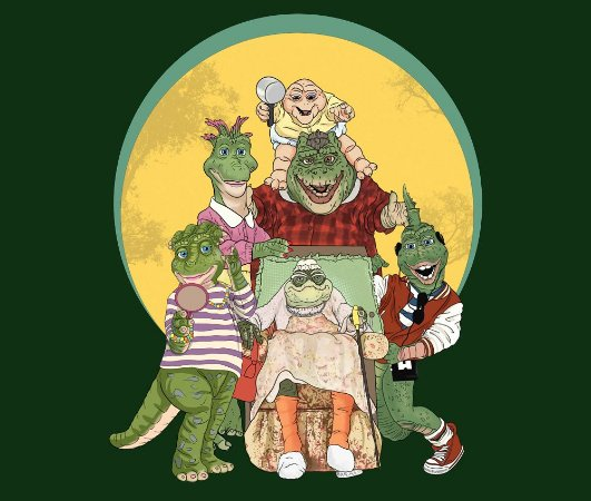 Enjoystick Família Dinossauro