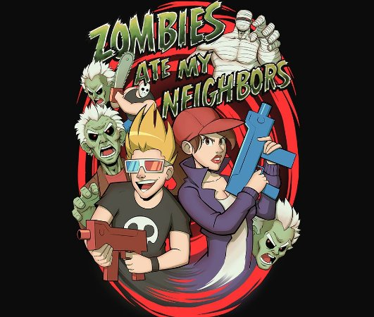 Enjoystick Zombies Ate My Neighbors
