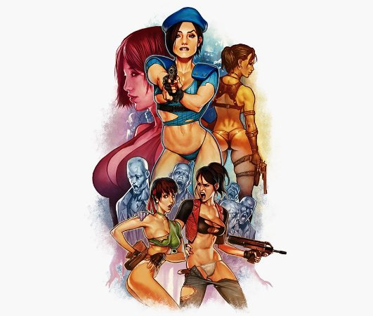 Enjoystick Resident Evil - Girl Power