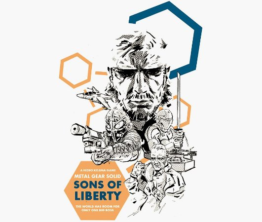 Enjoystick Metal Gear 2 - Sons of Liberty