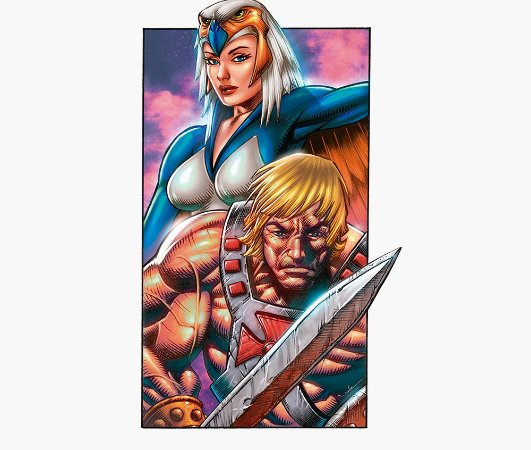 Enjoystick He-Man - Vertical Composition