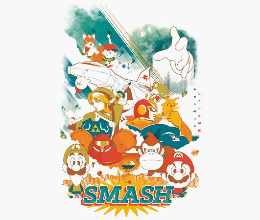 Enjoystick Super Smash Bros - Brave
