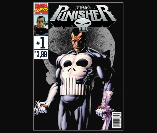 Enjoystick Punisher Comics