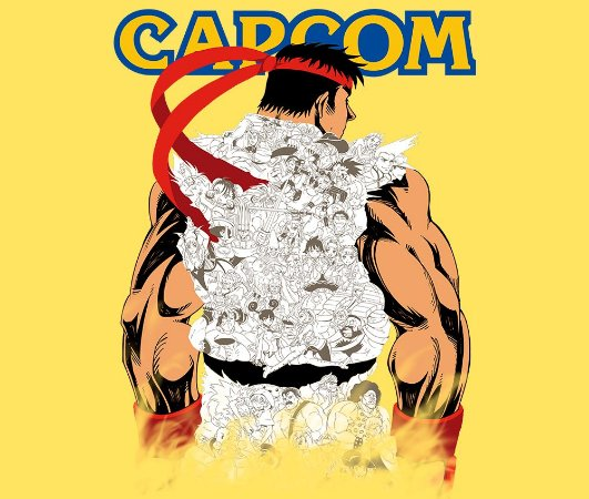 Enjoystick Capcom Tribute