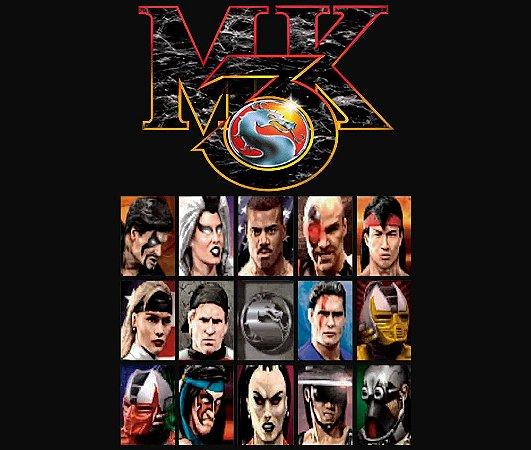 Enjoystick Mortal Kombat 3 - Select Screen