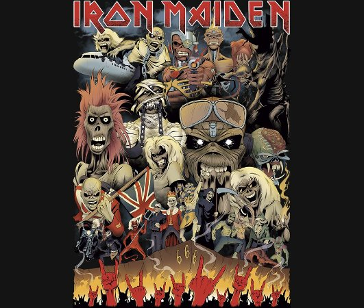Enjoystick Iron Maiden - Epic