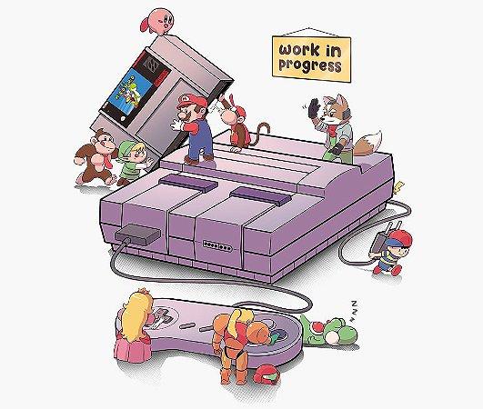 Enjoystick Nintendo Work in Progress