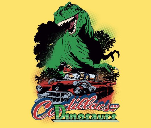Enjoystick Cadillacs and Dinosaurs
