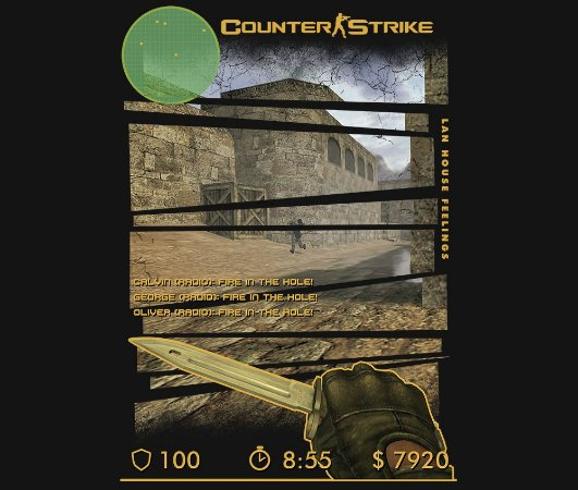 Enjoystick Counter Strike - Lan House Feelings