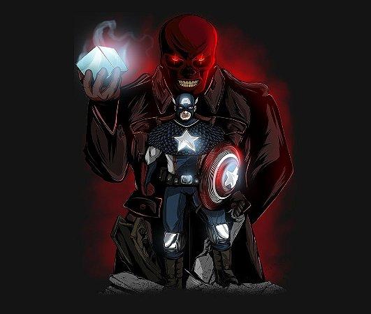 Enjoystick Capitão América e Caveira Vermelha