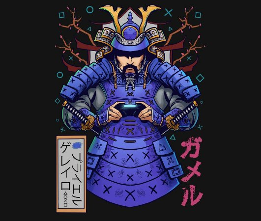 Enjoystick Samurai Playstation