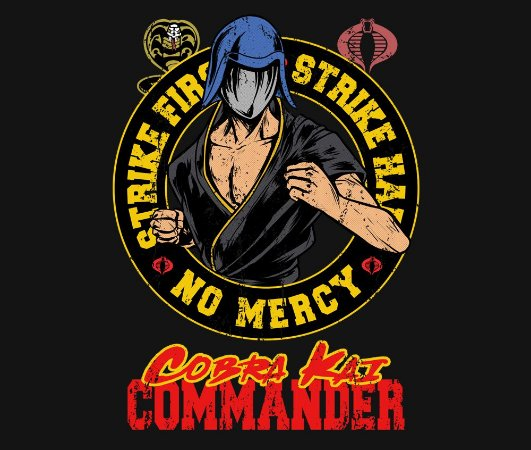 Enjoystick Cobra Kai Commander