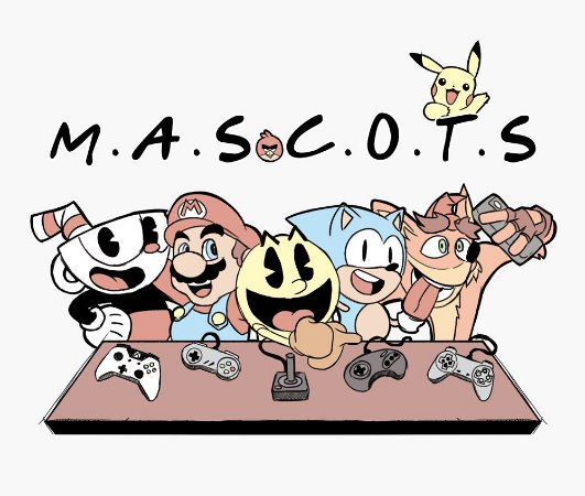 Enjoystick Mascots - Friends Style