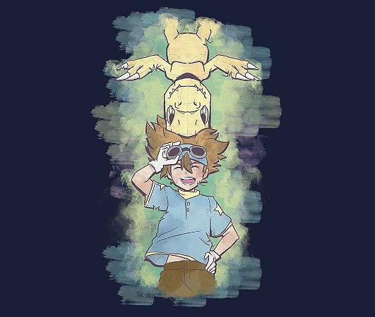 Enjoystick Digimon Tai e Agumon