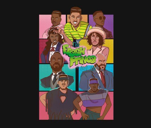Enjoystick The Fresh Prince of Belair Composition